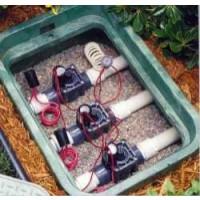 Arqueta de Riego con 3 Electroválvulas Hunter