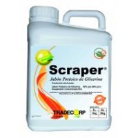 Scraper, Desinfectante Tradecorp