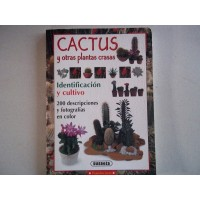 Libro de Cactus y Otras Plantas Crasas