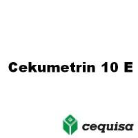 Cekumetrin 10 EC, Insecticida Acaricida Cequisa