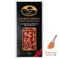 Pack Chorizo Iberico Puro Bellota Señorio de Montanera Loncheado, Pack de 5 Platos