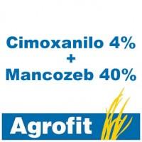 Cimoxanilo 4% + Mancozeb 40%, Fungicida Agrofit
