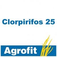 Clorpirifos 25, Insecticida Agrofit