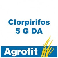 Clorpirifos 5 G da, Insecticida Agrofit