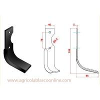 Cuchilla Rotovato Agria 3000/3001 Modelo 178-