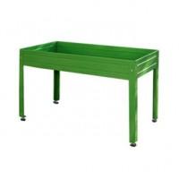 Mesa de Cultivo en Casa Verde para Huerto Urbano 150X75X85(Altura)