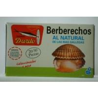 Berberechos al Natural de Rias Gallegas Ol-120, 20/30U
