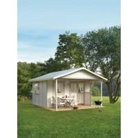 Chalet para Jardín con Porche 19,6 m2