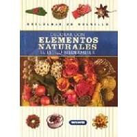 Libro para Decorar con Elementos Naturales