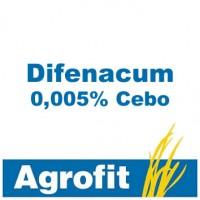 Difenacum 0,005% Agrofit Cebo, Rodenticida Agrofit