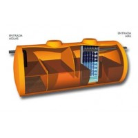 Compactos Fosa Filtro Anaeróbico 62500 Litros