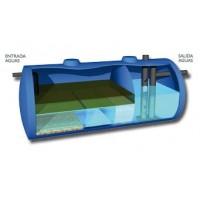 Separadores de Hidrocarburos con Desarenador 4000 Litros