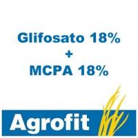 Glifosato 18% + MCPA 18% Agrofit, Herbicida Agrofit