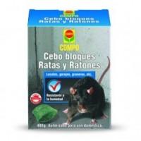Cebo Ratas y Ratones Compo Estuche de 300 Gr.