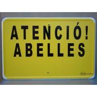 Rotulo Atenció Abelles