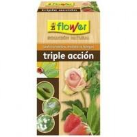 Triple Acción Solucin Ecolgica contra Insectos, Melazas y Hongos Flower
