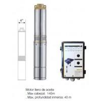 Kit Solar Szbss4 Bomba + Cuadro + Placas.