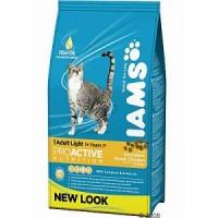 Comida para Gatos con Obesidad IAMS Light Pollo 10 KG