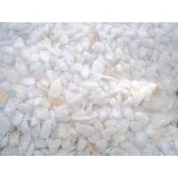 Marmolina Blanca Triturado Grueso,bolsa 25 Kg