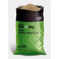NAC 27 Nitrato Amónico Cálcico 27 (3,5)  con Magnesio de Fertiberia