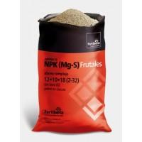 NPK (Mg-S) Frutales 12-10-18 (2-32)  con Boro y Pobre en Cloruro, Fertilizante Complejo de Fertiberia