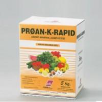 Proan K Rapid, Nutriente Suelo y Foliar Probelte