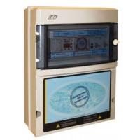 Protección y Maniobra para Filtración + 1 Foco 300W 12Vac con Control Digital Monofásico.