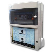 Protección y Maniobra para Filtración + 1 Foco 300W 12Vac + Diferencial Trifásico..