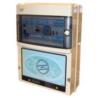 Protección y Maniobra para Filtración + 1 Foco 300W 12Vac + Diferencial y Control Digital Monofásico.