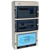 Protección y Maniobra para Filtración + 2 Focos 300W 12Vac Trifásico..