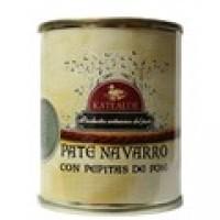 Paté Navarro con Pepitas de Foie, 110 Grs.