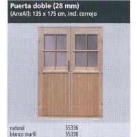 Puerta Doble