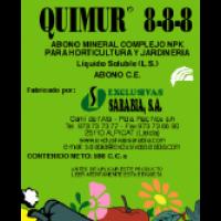 Quimur 8-8-8, Abono CE Exclusivas Sarabia