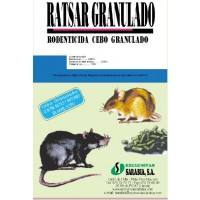 Ratsar Granulado, Raticidas Exclusivas Sarabia