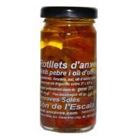 Rotllets de Anchoa en Aceite de Oliva 95gr