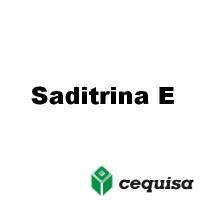 Saditrina E, Insecticida Cequisa