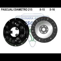 Maza Embrague con Disco Tractor Articulado Pasquali 956-957-958-990-991-995-996-997-980E-977