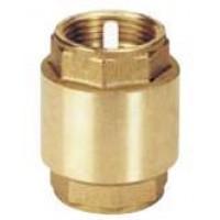 """Válvula de Retención (Tipo York) H-H 1"""". Obturador de Plástico."""