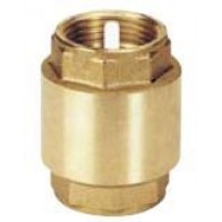 """Válvula de Retención (Tipo York) H-H 3/4"""". Obturador Plástico."""