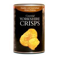 Patatas Chips al Queso Cheddar y Cebolla Caramelizada 100Gr